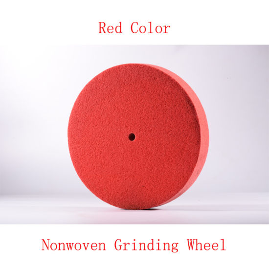 "14""X2"" 5p Nonwoven Grinding Wheel Nylon Disc Brush pictures & photos"
