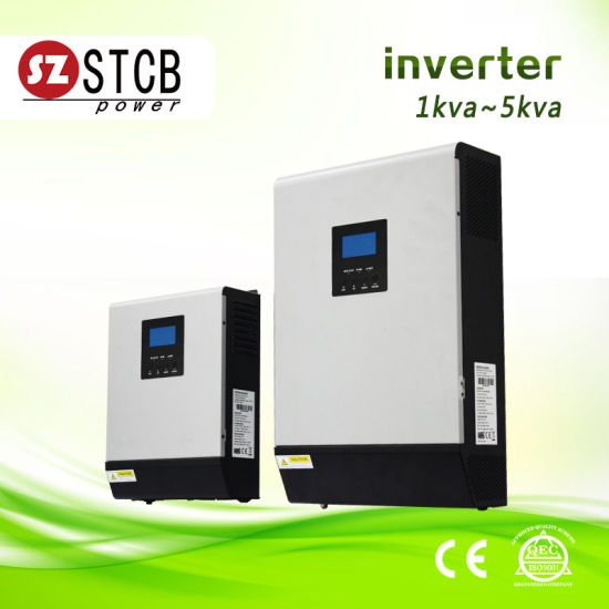 Solar Inverter 3kVA with AC Charger and MPPT Conroller for Home Air Conditioner pictures & photos