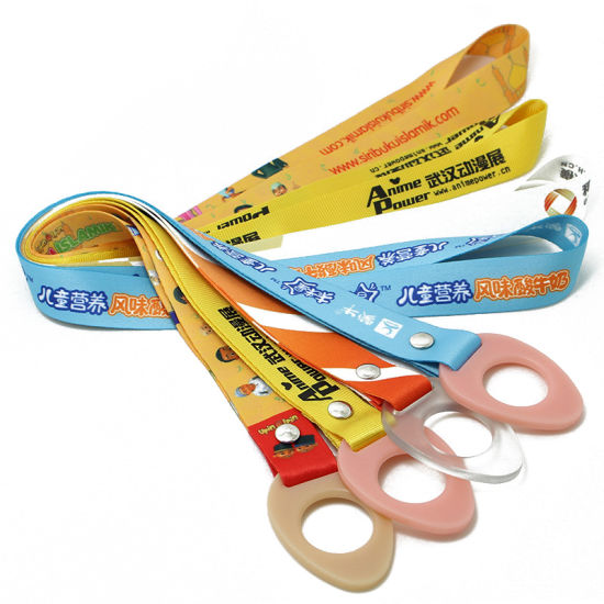 High Quality Customized Printed Bottle Holder Lanyard Strap NFL Olympic