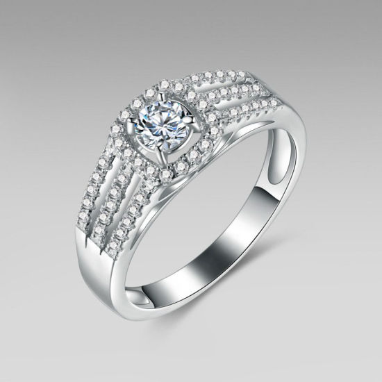 Sparkling Engagement Ring Set pictures & photos