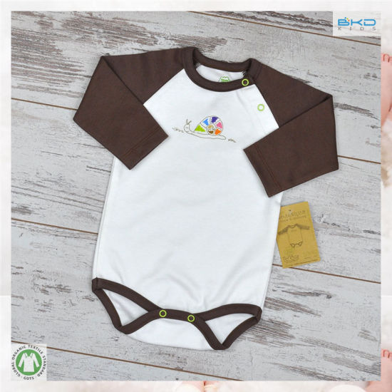 Long Sleeve Baby Apparel OEM Baby Boy Bodysuit
