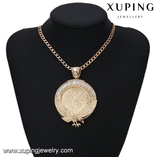 33067 Fashion Latest CZ Gold Pendant with Eagle Design for American Celebration pictures & photos