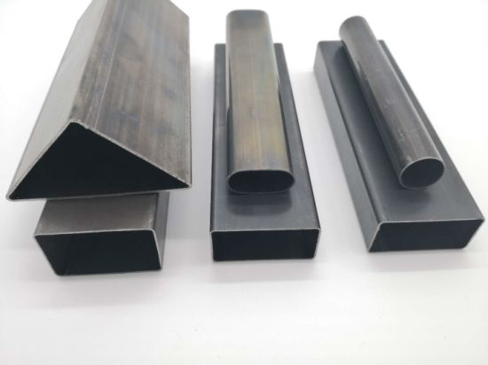 ASTM St37 Cold Rolled ERW Black Shs Bi Square Steel Pipe Thailand 3X3 50mm 40X40 50X50 60X60