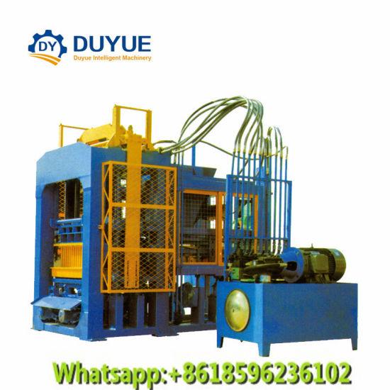 Qt8-15 Hydraulic Pressure Automatic Cement Block Moulding Machine