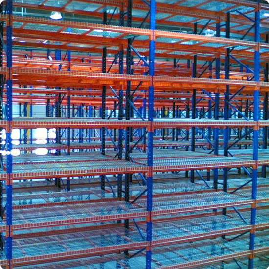 China Selective Warehouse Rack with Wire Mesh - China Rack, Pallet ...