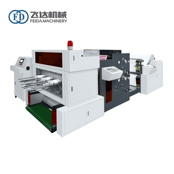 1 Year Warranty High Quality 3 Colors Printing and Die Cutting Paper Cup Making Machine