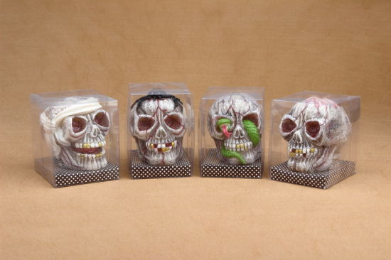 Halloween Decoration Skull Shaped Candle for Sale