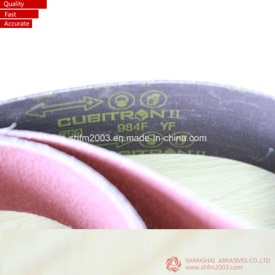 533*75mm 915*100mm 610*100mm 330X10mm 457*75mm 510*75mm 915*100mm 480*75mm Abrasive Sanding Belt for Wood pictures & photos