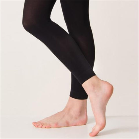 Wholesale Professional Black Pink Tan Footless Women Tights Pantyhose pictures & photos