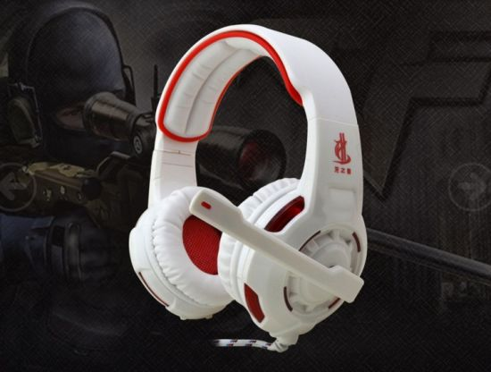 Virtual 7.1 Surrounded Channel Multifunction Gaming Headset pictures & photos