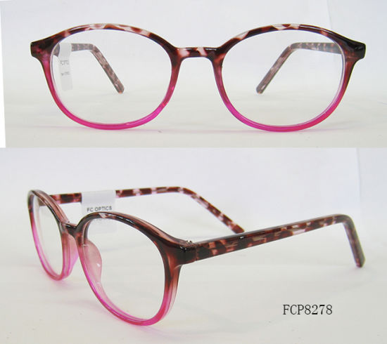 884b0a2b5c Round Double Color Fake Acetate Color Cp Injection Eyeglasses Eyewear  pictures   photos