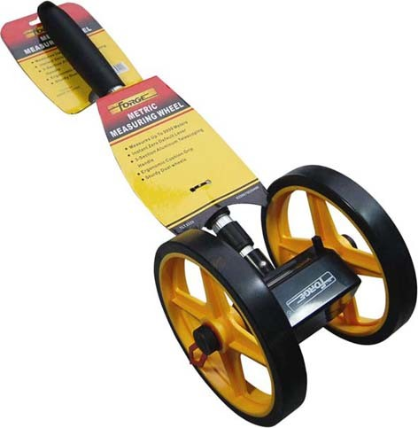 Dual Wheels Telescopic Mechanical Distance Measuring Wheel Meter Wheel pictures & photos