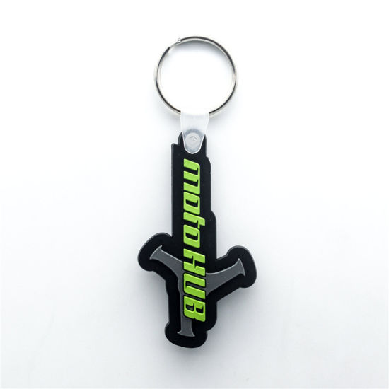 Gulf Sport 3D Soft PVC Key Chain Online Phone Personalized Phone Stand Retractable pictures & photos