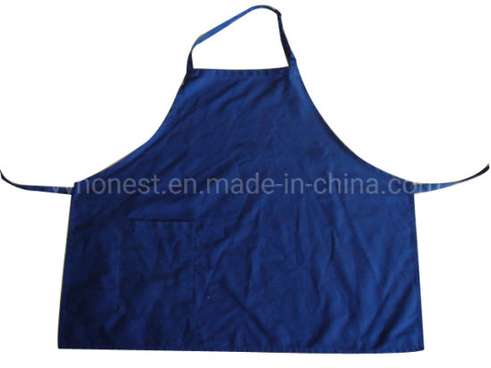 Reusable High Quantity Custom Durable Twill Fabric Chef Apron with Pocket
