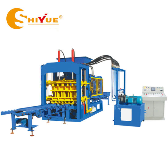 Qt6-15 Fully Automatic Hydraulic Concrete Hollow/Paving/Solid/Curbstone/Paver/Porous Block/Brick Making Machine