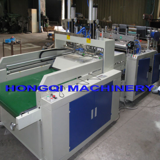 Full Automactically T-Shirt Bag Making Machine pictures & photos