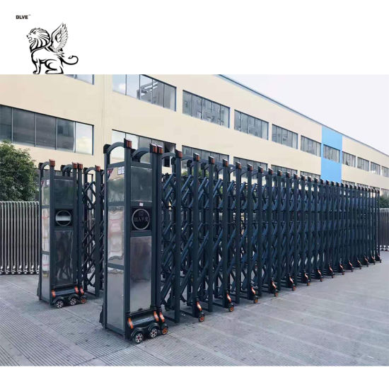 Manufacture High Quality Electric Retractable Door Sliding Stainless Steel Gate Rgm-08