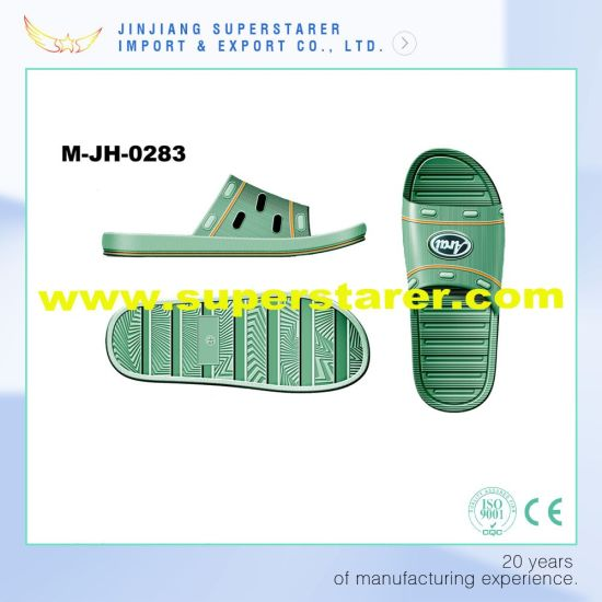 New Design Funky Slipper Men, EVA Bath Slipper Men pictures & photos