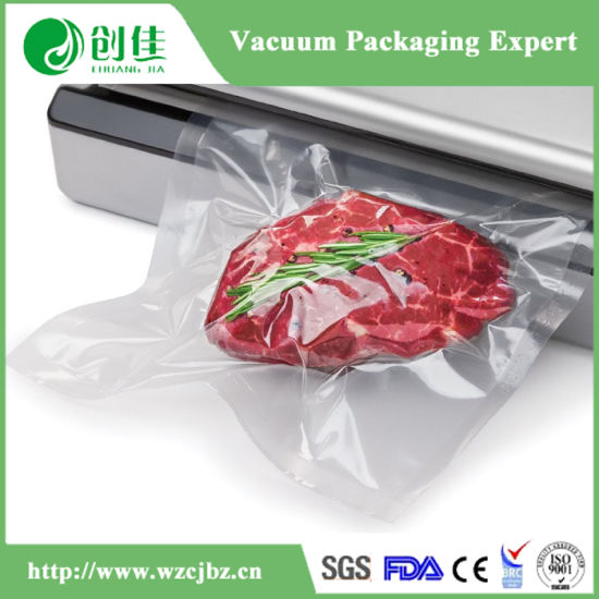 PA/PE PA/PP Transparent Food Grade Vacuum Sealer Bags Roll pictures & photos