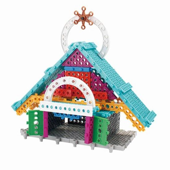 6739380-New Swan Stone Castle Diamond Building Block Educational Toy pictures & photos