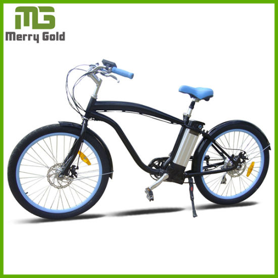 "En15194 Approved 26"" Mens Electric Beach Cruiser pictures & photos"