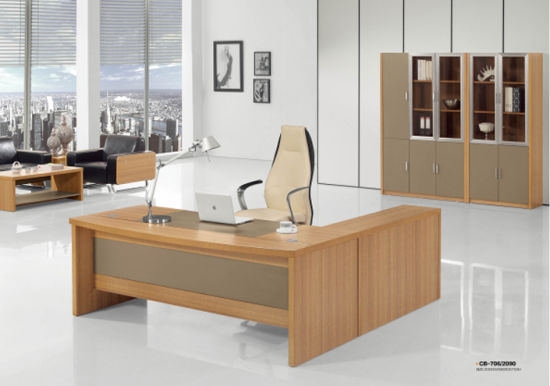 High Grade Modern Chinese Wooden Desk Office Furniture - China ...