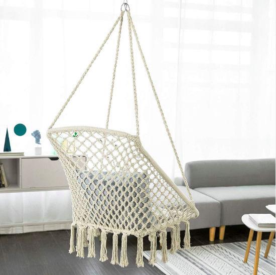 China Macrame Chair Hanging Swing Chair China Hanging Swing