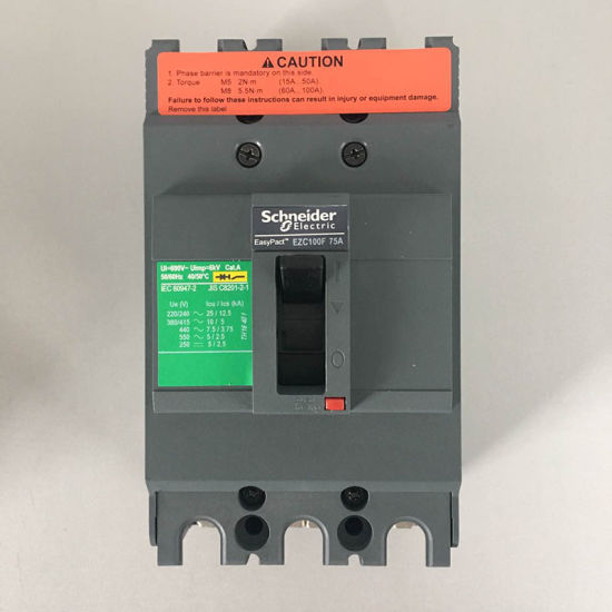 China High Quality Schneider 3p Ezc Compact 100amp Mccb