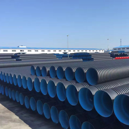 Double Wall Corrugated PE Water Pipe for Drain