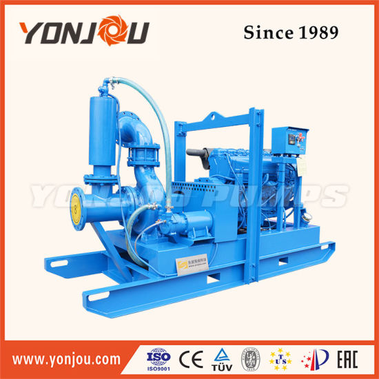 China Skid Mounted Diesel Engine Driven Dewatering Pumps