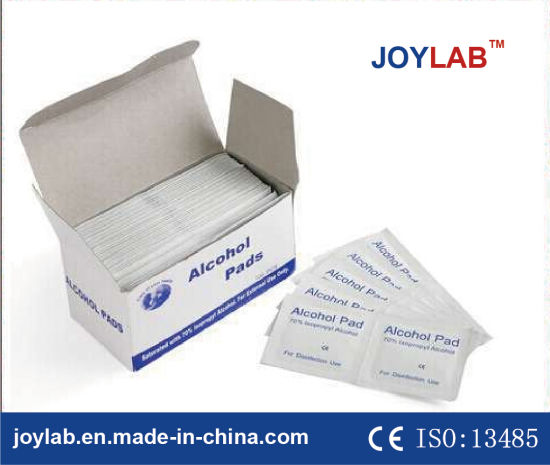 Medical Consumable High Quality Alcohol Pad Alcohol Swab, Ce Certificated pictures & photos