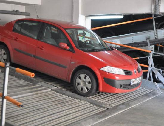 Low Pit Height Underground Car Parking Solution