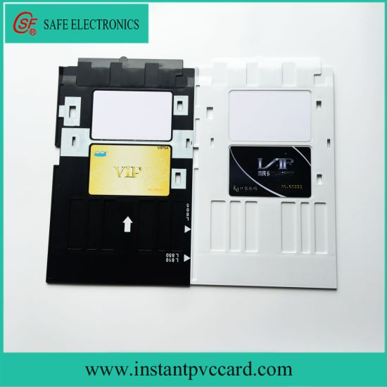Fast Shipping Printer Supplies Printer Parts Pvc Id Card Printing Tray For Epson R260 R265 R270 R280 R290 R380 R390 Rx680 T50 T60 A50 P50 L800 L801 R330