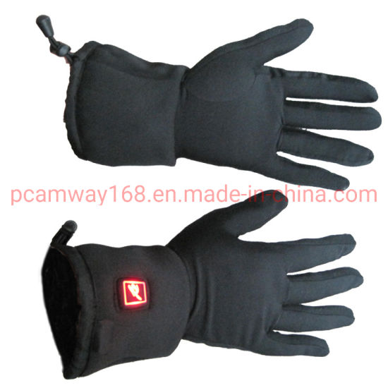 Lithium Polymer Battery Heating Motorcycle Thinner Winter Gloves