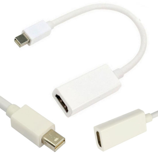 Mini Dp to HDMI Cable Dp Male to HDMI Female Video Converter Cable Mini Dp to HDMI 1080P HP Transit Line Cable