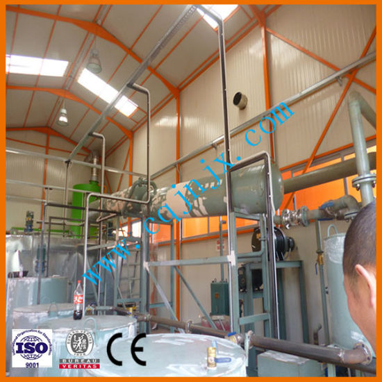 Waste Motor Oil Vacuum Distillation Machine to New Engine Oil pictures & photos