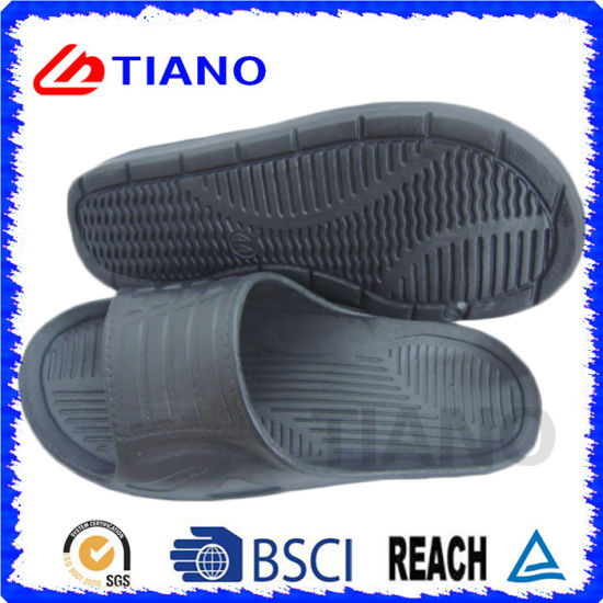 New Simple Black Casual EVA Slipper for Men (TNK35620) pictures & photos