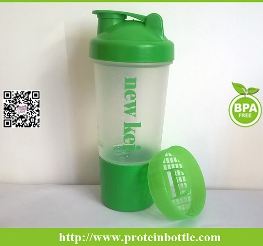 500ml Shaker Bottle with Ss Wire Ball