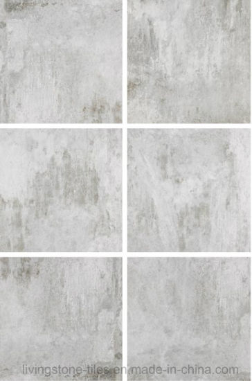 China Italian New Cement Look Design Ceramic Floor Tile Lx6615w