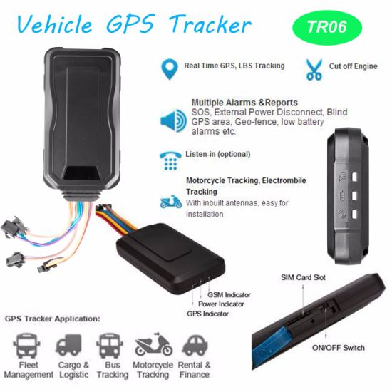 2017 Car/Motorcycle GPS Tracker with Remote Cut Engine pictures & photos