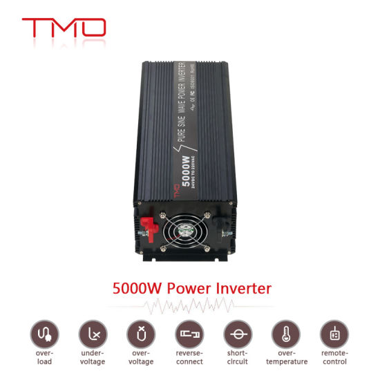 5000W 48VDC Solar Power Inverter DC to AC Inverter pictures & photos