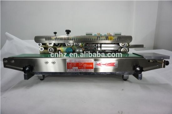 Continue Sealing Machine for Candy Bag with Iron Body pictures & photos
