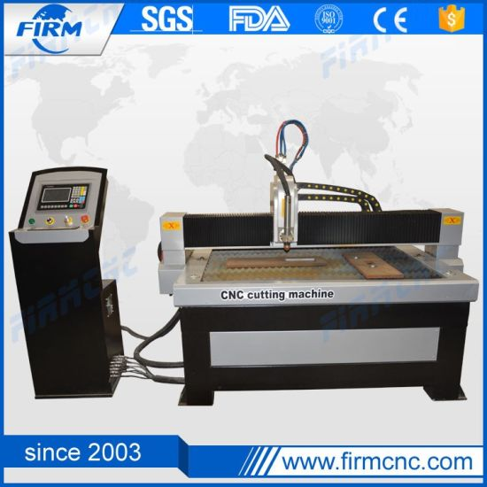 High Accuracy CNC Plasma Steel Cutting Machine pictures & photos