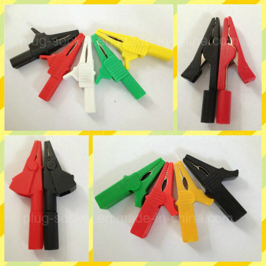 High Quality Colors 30A Alligator Clip (RJ-Y1083) pictures & photos