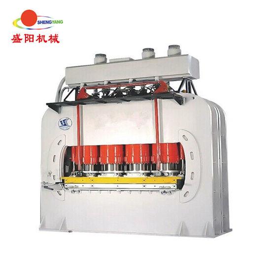 1000ton Hydraulic Hot Press Machine / Heated Platen Press