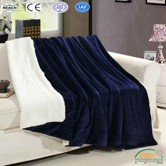 Super Soft White Black Throw Blankets For Sofa Bed Travel