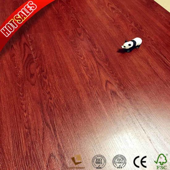 China Waterproof Cheap Price U Groove Laminate Flooring Flexible