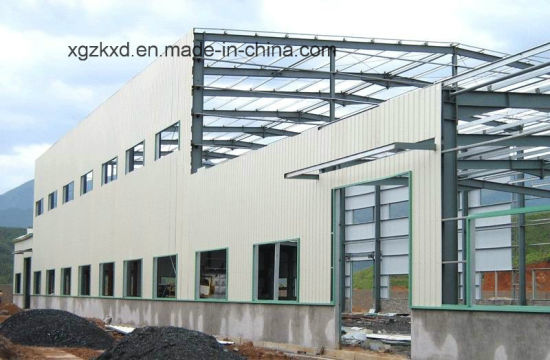 China Prefabricated Portal Frame Light Steel Structure Workshop (KXD ...