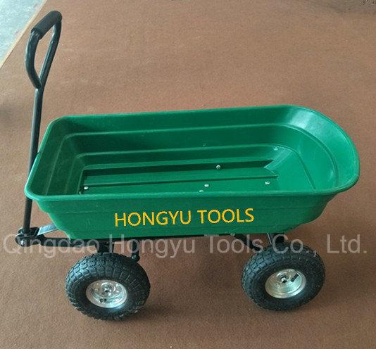 Wheel Barrow Garden Cart