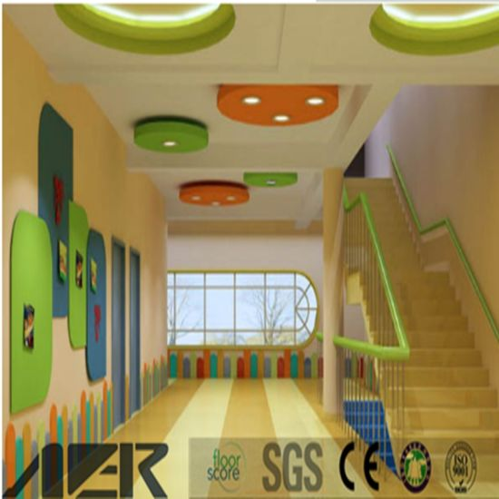 China Industrial Colorful PVC Vinyl Flooring Covering for Kids ...